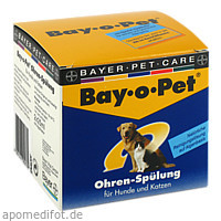 Bay-o-Pet Ohrreiniger kleiner Hund /Katze, 2X25 ML, Elanco Deutschland GmbH