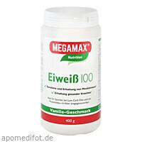 EIWEISS 100 VANILLE MEGAMAX, 400 G, Megamax B.V.