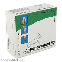 AESCUSAN retard 50 Retardtabletten, 100 ST, MIBE GmbH Arzneimittel
