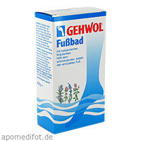 GEHWOL FUSSBAD, 400 G, Eduard Gerlach GmbH