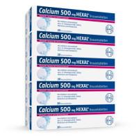 CALCIUM 500 HEXAL, 100 ST, HEXAL AG