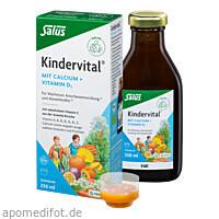 Kindervital mit Calcium + D3 Tonikum bio Salus, 250 ML, Salus Pharma GmbH