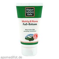 Allgäuer LK Fuß Balsam wohlig & warm, 75 ML, Dr. Theiss Naturwaren GmbH
