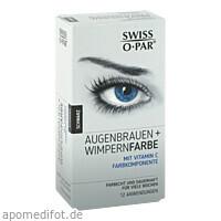 Augenbrauen + Wimpernfarbe Schwarz Swiss O-Par Set, 1 P, Axisis GmbH