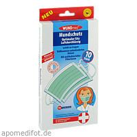 Mundschutz mit Antibakterieller Filterleiste, 10 ST, Axisis GmbH