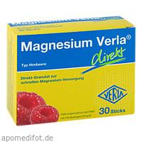 Magnesium Verla direkt Himbeere, 30 ST, Verla-Pharm Arzneimittel GmbH & Co. KG