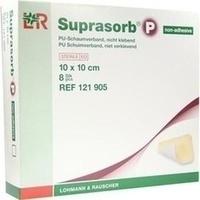 Suprasorb P PU-Schaum nicht kl. 10x10cm, 8 ST, Lohmann & Rauscher GmbH & Co. KG