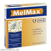MelMax Wundauflage 5x6cm, 10 ST, Principelle Deutschland Ug (Haftungsbeschränkt)