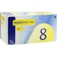 NOVOFINE 8 Kanülen 0.30x8mm, 100 ST, Aca Müller/Adag Pharma AG