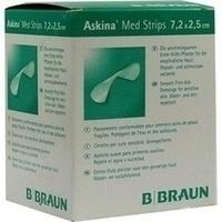 ASKINA MED STRIPS 7.2x2.5cm ERSTE HILFE PFLASTER, 100 ST, B. Braun Melsungen AG