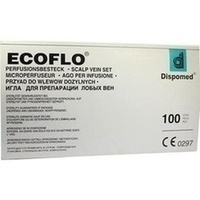 Ecoflo Perfusionsbesteck 21G, 100 ST, DISPOMED GmbH & Co. KG
