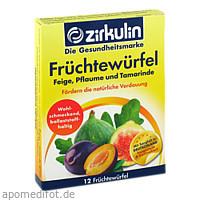 Zirkulin Früchtewürfel, 12 ST, DISTRICON GmbH