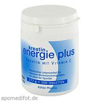Kreatin Energie plus, 200 G, Köhler Pharma GmbH