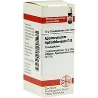 APOMORPHINUM HYDROCHL D 8, 10 G, Dhu-Arzneimittel GmbH & Co. KG