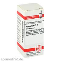APOCYNUM D 2, 10 G, Dhu-Arzneimittel GmbH & Co. KG