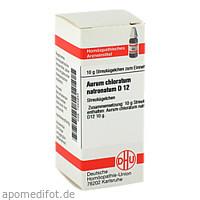 AURUM CHLORATUM NATRON D12, 10 G, Dhu-Arzneimittel GmbH & Co. KG