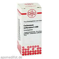 CARBONEUM SULFUR C200, 10 G, Dhu-Arzneimittel GmbH & Co. KG