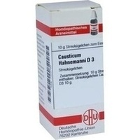 CAUSTICUM HAHNEMANNI D 3, 10 G, Dhu-Arzneimittel GmbH & Co. KG