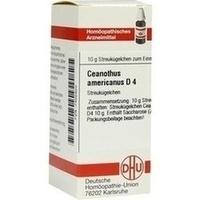 CEANOTHUS AMERICANUS D 4, 10 G, Dhu-Arzneimittel GmbH & Co. KG