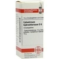 EPHEDRINUM HYDROCHLO D 6, 10 G, Dhu-Arzneimittel GmbH & Co. KG