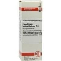 EPHEDRINUM HYDROCHLO D 6, 20 ML, Dhu-Arzneimittel GmbH & Co. KG