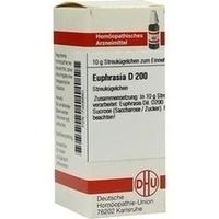 EUPHRASIA D200, 10 G, Dhu-Arzneimittel GmbH & Co. KG