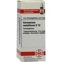 GERMANIUM METALLICUM D12, 10 G, Dhu-Arzneimittel GmbH & Co. KG