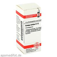 GINKGO BILOBA D12, 10 G, Dhu-Arzneimittel GmbH & Co. KG