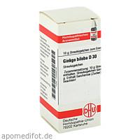 GINKGO BILOBA D30, 10 G, Dhu-Arzneimittel GmbH & Co. KG