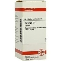 HARONGA D 3, 80 ST, Dhu-Arzneimittel GmbH & Co. KG