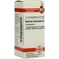 NATRIUM FLUOR D 6, 10 G, Dhu-Arzneimittel GmbH & Co. KG