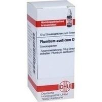 PLUMBUM ACET D 6, 10 G, Dhu-Arzneimittel GmbH & Co. KG