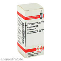 RAUWOLFIA D 2, 10 G, Dhu-Arzneimittel GmbH & Co. KG