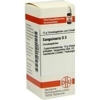 SANGUINARIA D 3, 10 Gramm, Dhu-Arzneimittel GmbH & Co. KG