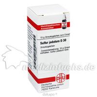SULFUR JODAT D30, 10 G, Dhu-Arzneimittel GmbH & Co. KG