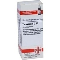 TARAXACUM D30, 10 G, Dhu-Arzneimittel GmbH & Co. KG