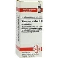 VIBURNUM OPULUS D12, 10 G, Dhu-Arzneimittel GmbH & Co. KG