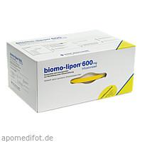 BIOMO LIPON 600mg INFUSIONS SET, 5 ST, Biomo Pharma GmbH