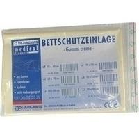 BETTSCHUTZEINLAGE GUMMI 45X60 CREME, 1 ST, Dr. Junghans Medical GmbH