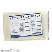 BETTSCHUTZEINLAGE GUMMI 60x90 CREME, 1 ST, Dr. Junghans Medical GmbH