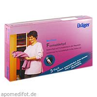 BIO-CHECK FORMALDEHYD, 3 ST, Dräger Safety AG & Co. KGaA