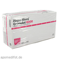 Hepa Merz Granulat 6000 BTL, 100 ST, Merz Pharmaceuticals GmbH