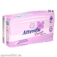 Attends Ultra Care Vorlage discrete 4 Normal Plus, 1X42 ST, Attends GmbH