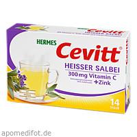 HERMES Cevitt heißer Salbei, 14 ST, Hermes Arzneimittel GmbH