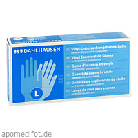 Vinyl-Handschuhe ungep. Gr. L, 100 ST, P.J.Dahlhausen & Co. GmbH