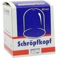 Schröpfköpfe Glas 6cm Durchmesser, 1 ST, Dr. Junghans Medical GmbH