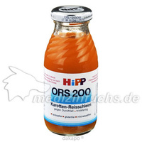 Hipp 2300 ORS 200 Trinkfertige Karotten Reis Diät, 0.2 L, Hipp GmbH & Co.Vertrieb KG