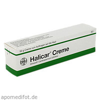 HALICAR CREME, 50 G, Dhu-Arzneimittel GmbH & Co. KG