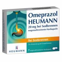Omeprazol Heumann 20mg b Sodbr. magensaftr.Hartk., 7 ST, Heumann Pharma GmbH & Co. Generica KG
