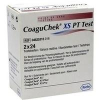 COAGUCHEK XS PT Test, 2 × 24 Stück, Aca Müller/Adag Pharma AG